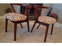 Danish Curved back Dining Chair