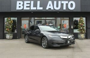 2015 Acura TLX TECH PKG AWD NAVIGATION LEATHER SUNROOF REARCAM
