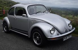 1982 Limited edition 20 millionth anniversary Silverbug beetle.