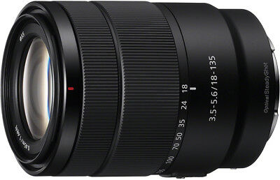 Sony E 18-135mm F3.5-5.6 OSS APS-C E-mount Zoom Lens