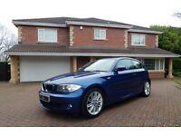 BMW 118d M SPORT (blue) 2011