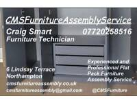 CMS Flat pack Furniture Assembly Services, Northamptonshire