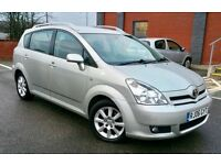 TOYOTA COROLLA VERSO 2.2 T3 D4D 2006 / MILEAGE 88000 /7 SEATER GREAT DRIVE / 6 SPEED GEAR/ £ 2990