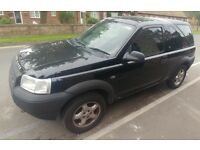 2003 Black Land Rover Serengeti 1.8 petrol - Spares or Repairs £300ono.