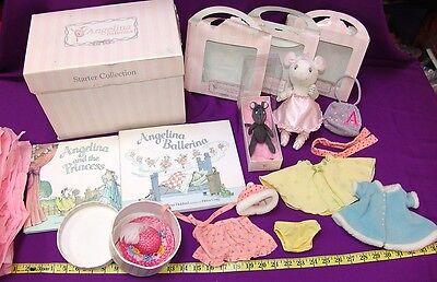 AMERICAN GIRL ANGELINA BALLERINA LOT Books Dolls Accessories Clothes Free Shippi