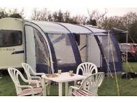 Caravan awning. ( lightweight)