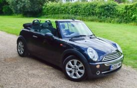 2005 Mini Cooper Convertible! 57K low Miles!Long MOT!New Tires!Ice Cold Air con