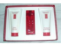 Elizabeth Arden Red Door Gift Set Beauty Perfume EDT Eau Body Lotion Shower Gel Bath Cream Box