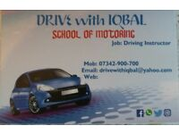 DRIVING LESSONS SPECIAL OFFER 2 HOURS £35 every friday only.