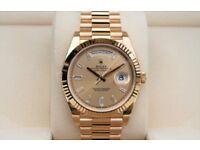 Rolex Day-Date 40 President Diamond Dial S/ETA