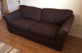 Large 3 seater Marks and Spencers sofa