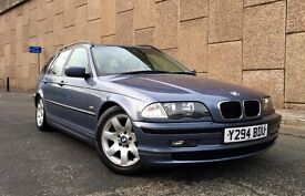 *** BARGAIN *** 2001 BMW 318i SE, ESTATE, AUTOMATIC, 12 MONTH MOT, FULL SPEC, LEATHER, GREAT CAR