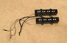Lindy Fralin split coil jazz bass pickups