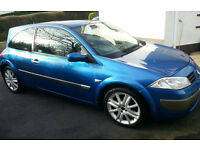 Renault Megane with panoramic glass roof