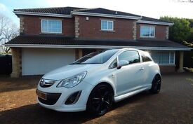 Vauxhall Corsa LIMITED EDITION (white) 2012