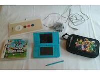 Nintendo DSI, case and game