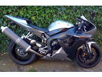 2002 Yamaha YZF R1 5pw, FSH, MOT, Excellent Condition