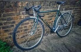 Dawes Galaxy Super Tourer bike. Reynolds 531. Full service (+ Brooks saddle etc) lovely condition.