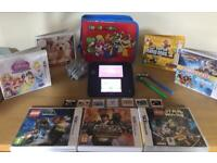 Blue Nintendo 2Ds *Excellent Condition* (comes with 9 Games, Carry Case & Charger