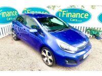 CAN'T GET CREDIT? CALL US! Kia Rio 1.4 3 Ecodynamics ISG, 2013, Manual - £200 DEPOSIT, £40 PER WEEK