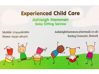 Experienced Child Care/ Babysitting Service