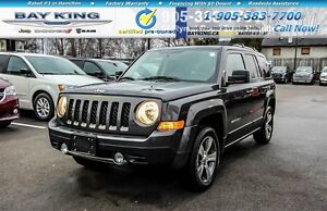 2016 Jeep Patriot HIGH ALTITUDE, 4X4, SUNROOF, RMT START, HTD LE