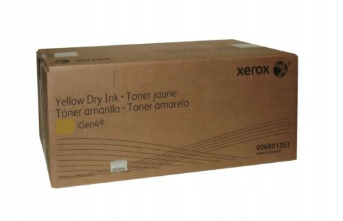 Xerox IGen4 Color 8250 Press Yellow Toner 6R1353 006R01353