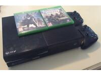 Xbox One 500GB + 2 Controllers + 2 Games! Bundle