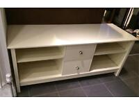 Off white to stand/ media unit shabby chic