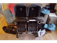 bugaboo donkey twin v1.1 version. good condition.