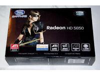 Sapphire Radeon HD 5850 1 GB DDR5 DirectX 11 PCI-Express Graphics Card