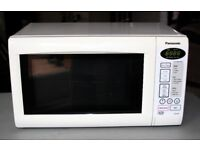 Panasonic NN-E255W 19 litre 800 watt Digital Solo Microwave Oven