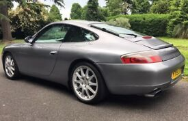 Porsche 911 C4 manual. FSH, new tyres, brakes, clutch and wheel bearings