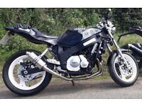 FZR 600 streetfighter not Fz6 or Honda Hornet