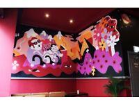 Mural artist/Illustrator - Glsgow