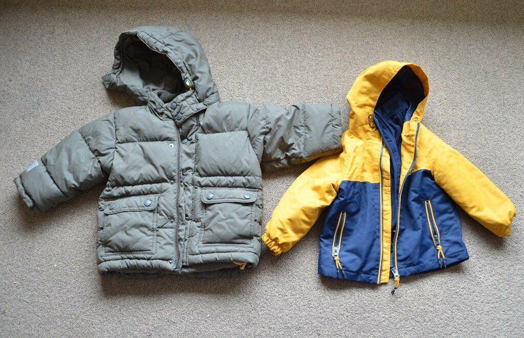 5646fd8af 2 baby boy coats size 18- 24 months