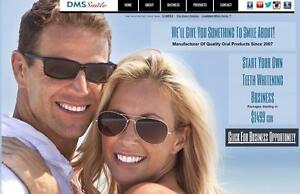Start your own Cosmetic Teeth Whitening Business for only $1499