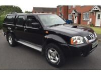 2006 (06) NISSAN NAVARA 2.5 DI DIESEL MANUAL DOUBLE CAB PICK UP TRUCK 4X4