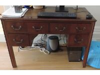House-Clearance: Vintage Desk with Drawers for Sale