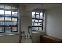 light and airy double room in London Fields warehouse flat
