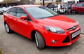 FORD FOCUS 1.6 ZETEC TDCI 5d 113 BHP S Apply for finance Online today! (red) 2014