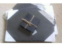 Slate Placemats and Coasters x6 £10