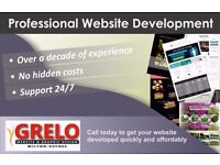 Professional website design, reliable, affordable