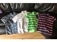 Boys shirts and polo shirts to fit age 6. Excellent condition, smoke & pet free home, £5,