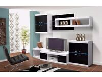 Viktor - High Gloss wall unit
