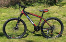 NEW JUNIOR KIDS BOYS MOUNTAIN BIKE SUSPENSION AND DISC BRAKES ADULT SMALL SIZE BIKE