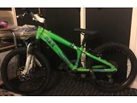 "Boys 20"" Front Suspension Raleigh Max DJ20 Green Mountain Bike (Few Marks)"