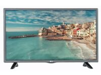 LG 32 inch Slim HD LED TV with Freeview Built in, HDMI + USB Media Player, May Deliver Locally