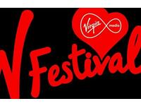V festival weekend ticket ( No camping ) Chelmsford
