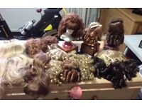 Doll's wig's for sale